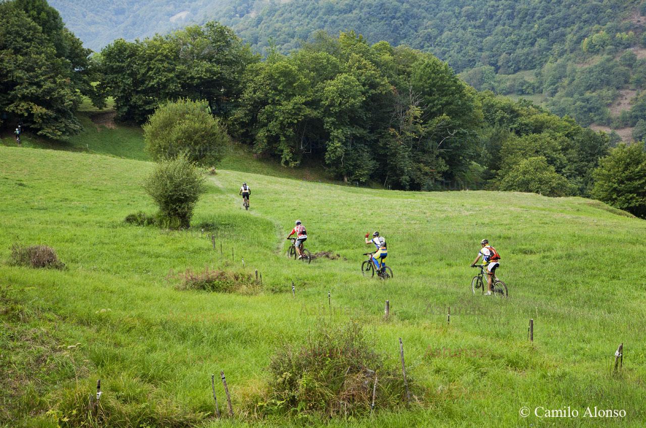 Rutas BTT por Aller. Asturias.