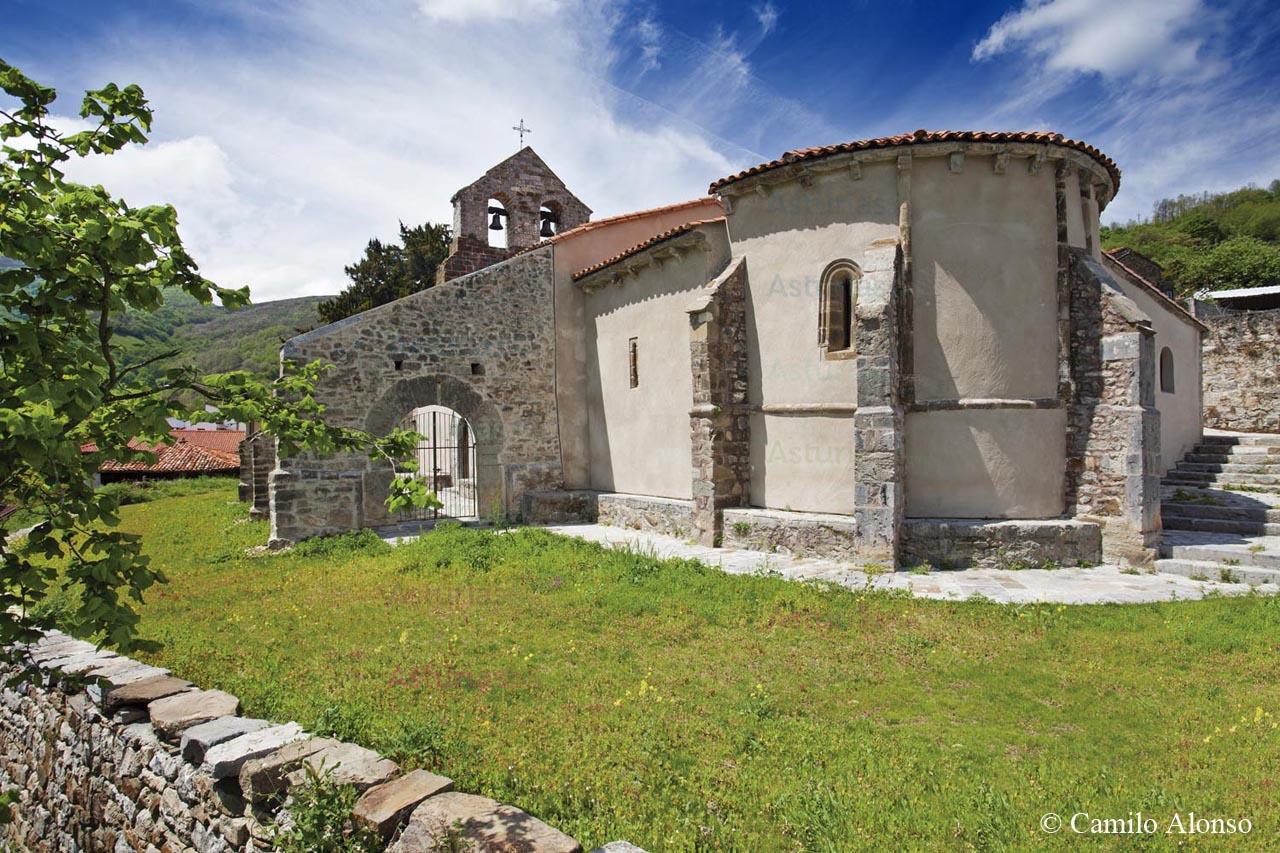Iglesia de San Juan de Riomera. Santibáñez de La Fuente.