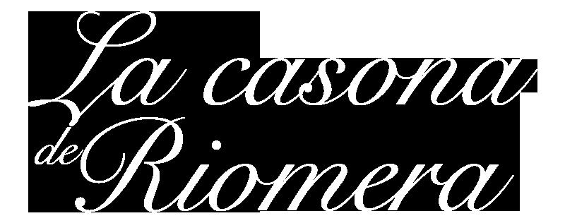 La casona de Riomera, casa de aldea. Logotipo